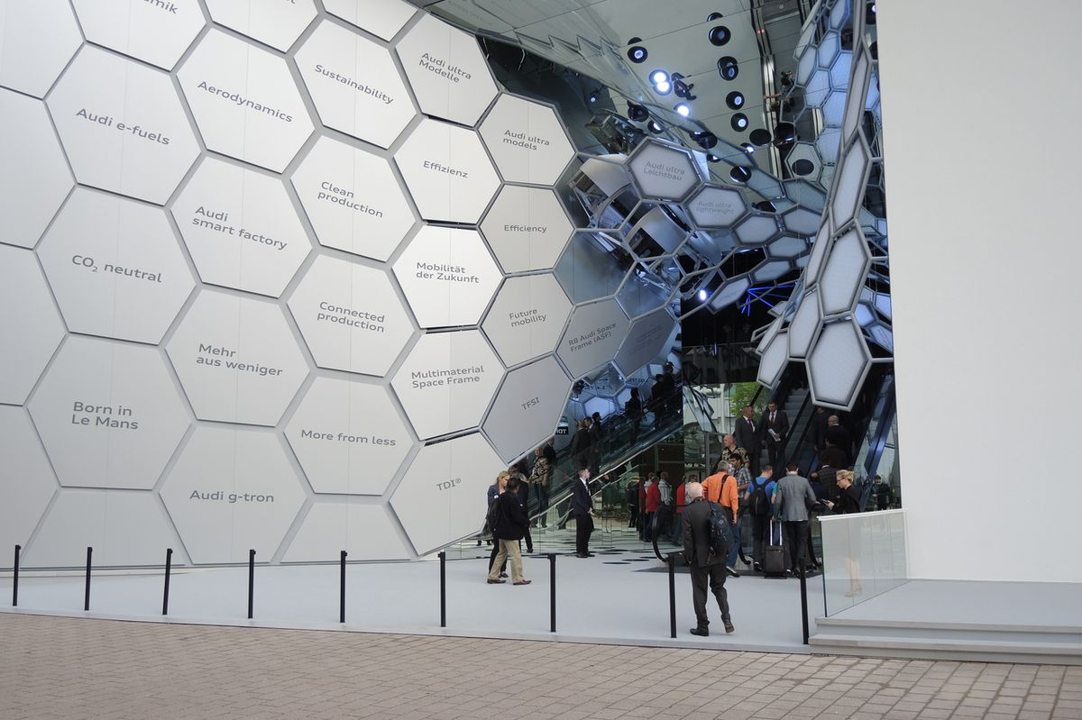 Audi mělo letos na IAA samostatný pavilon