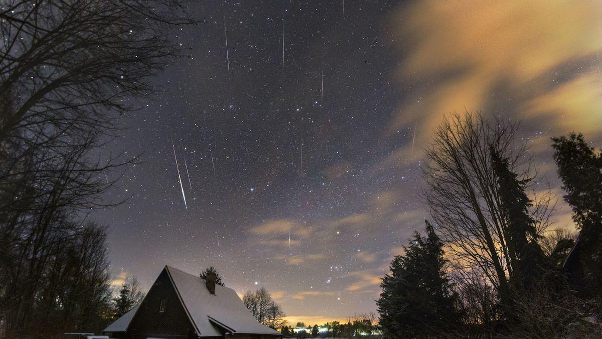 Z noční oblohy budou pršet meteory. Kvadrantidy vrcholí v sobotu ráno