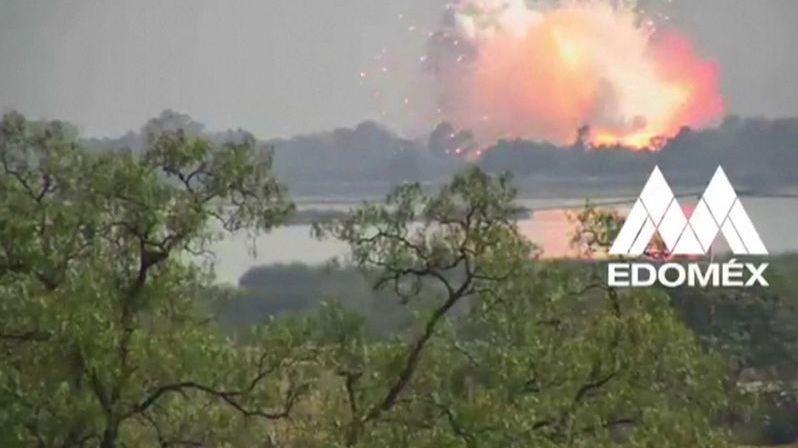 V Mexiku explodoval sklad s pyrotechnikou, dva mrtví