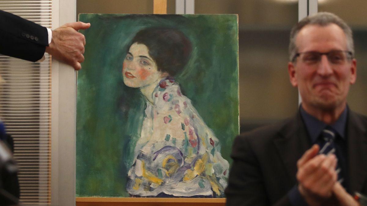 Zahradník našel skutečně ukradeného Klimta, potvrdili experti
