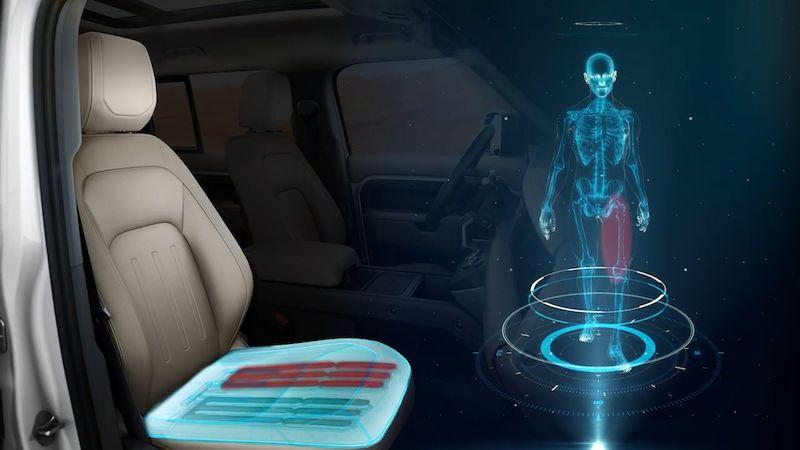 Nová sedadla v Jaguarech budou simulovat chůzi