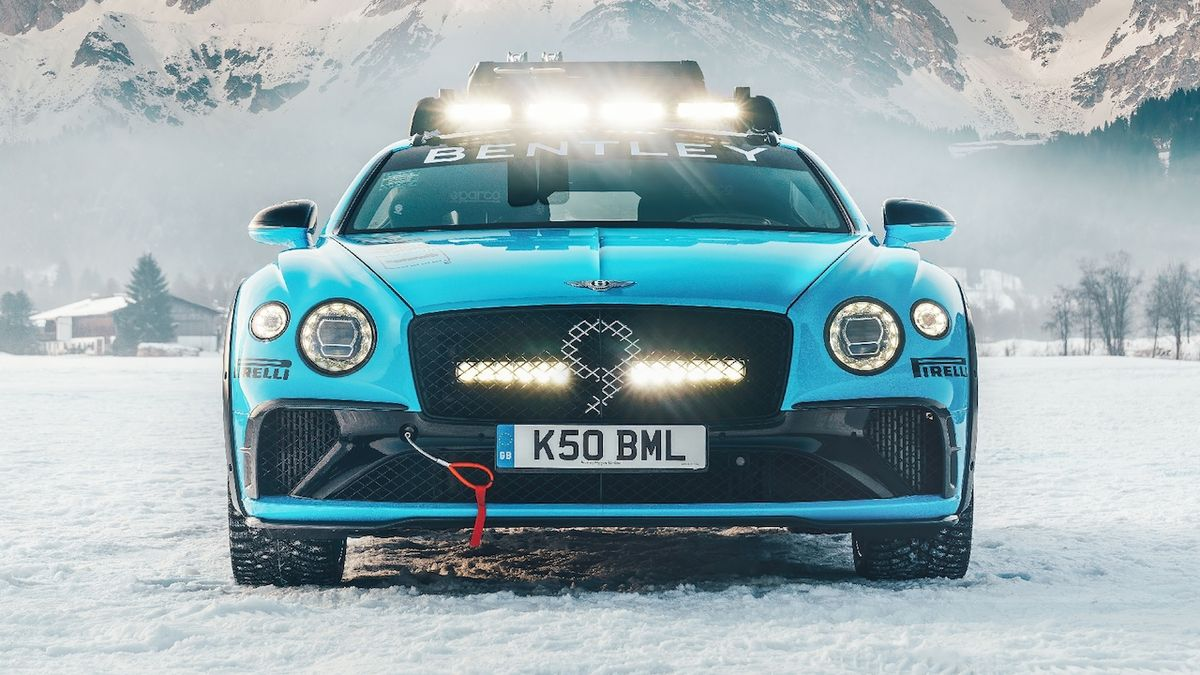 Bentley Ice Race Continental GT