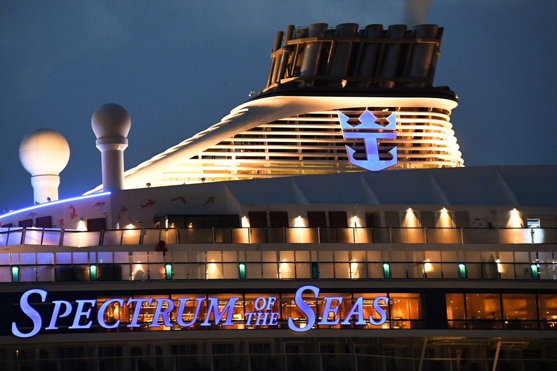 Loď Spectrum of the Seas ve Vladivostoku v září 2019