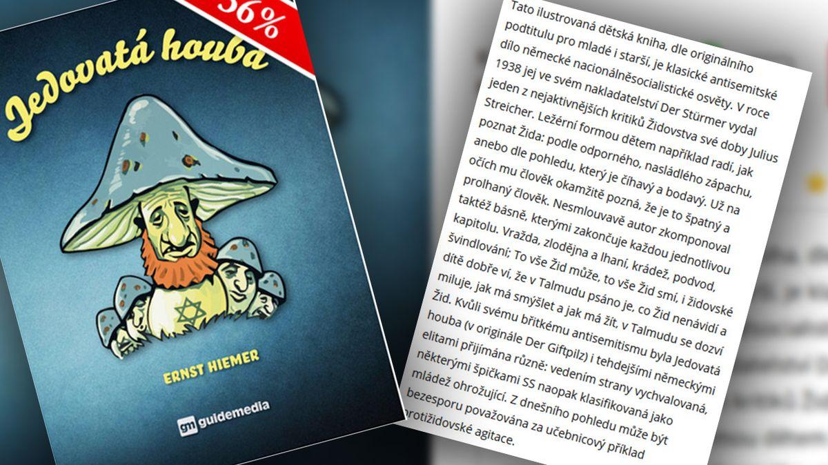 Česká knihkupectví nabízejí nacistickou propagandu proti Židům mezi tituly pro děti