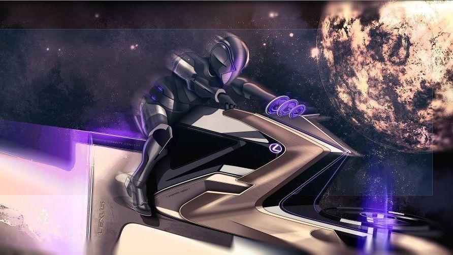Lexus představil své vesmírné koncepty. Vidí se na Měsíci