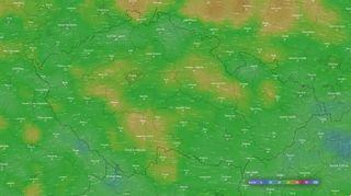 Ještě není konec. Silný vítr potrápí Česko i ve středu, varovali meteorologové