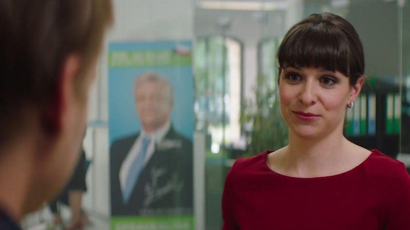 Kubařová hraje asistentku prezidentského kandidáta, která zaujme Hádka