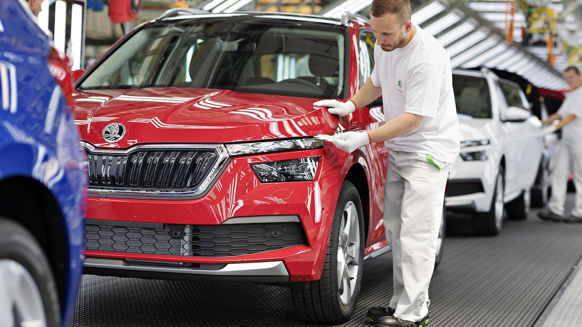 Škoda Auto poprvé vyrobila přes 900 tisíc aut za rok