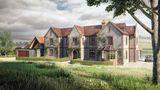 Zchátralá historická farma se proměnila ve stylový moderní dům