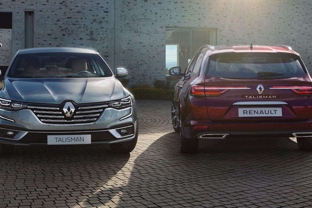 Renault Talisman 2020 ve verzi sedan i kombi