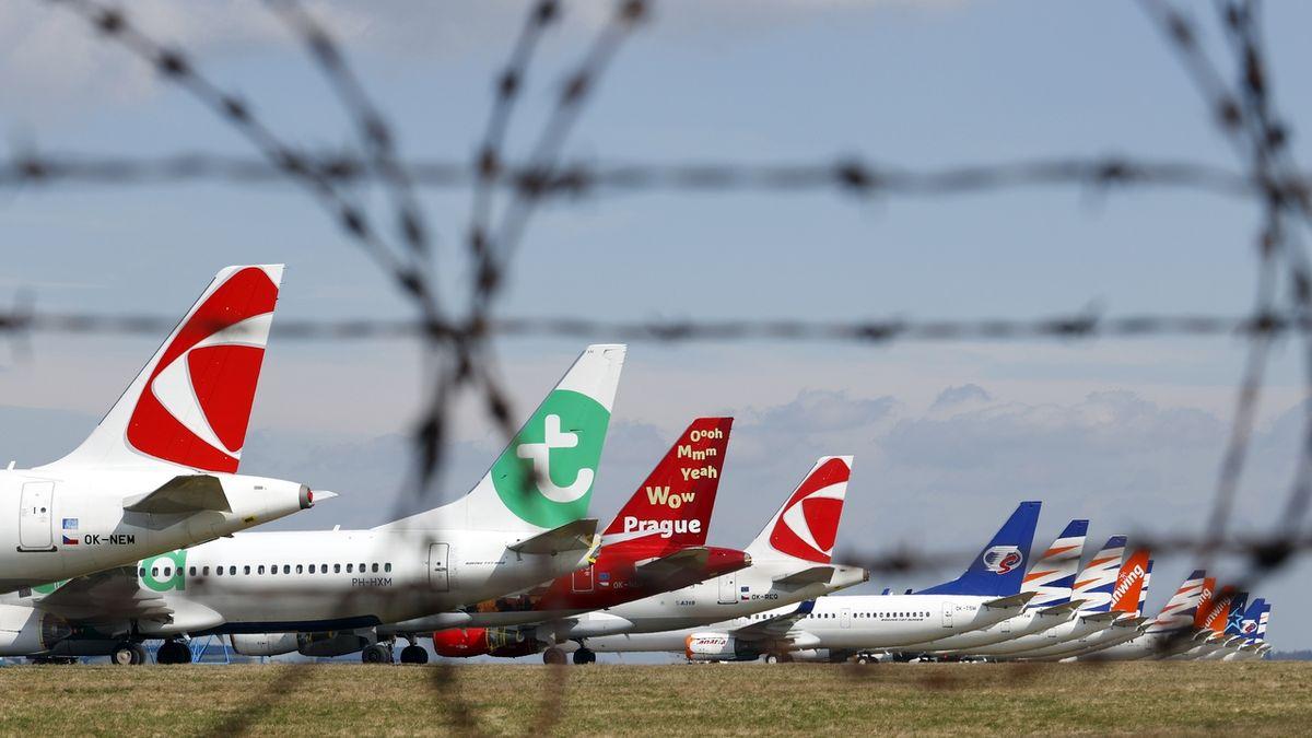 Ruch na pražském letišti znovu utichá