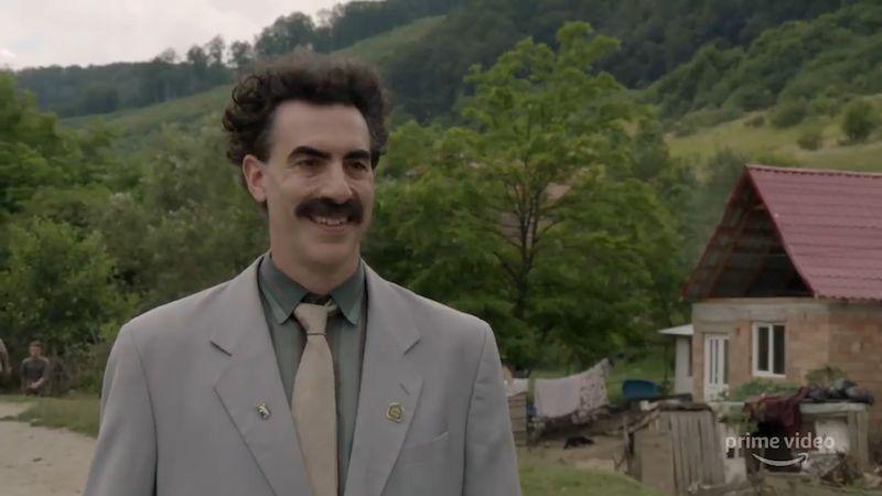 Borat 2 chystá rozšířenou verzi, slibuje orgie bizarního humoru