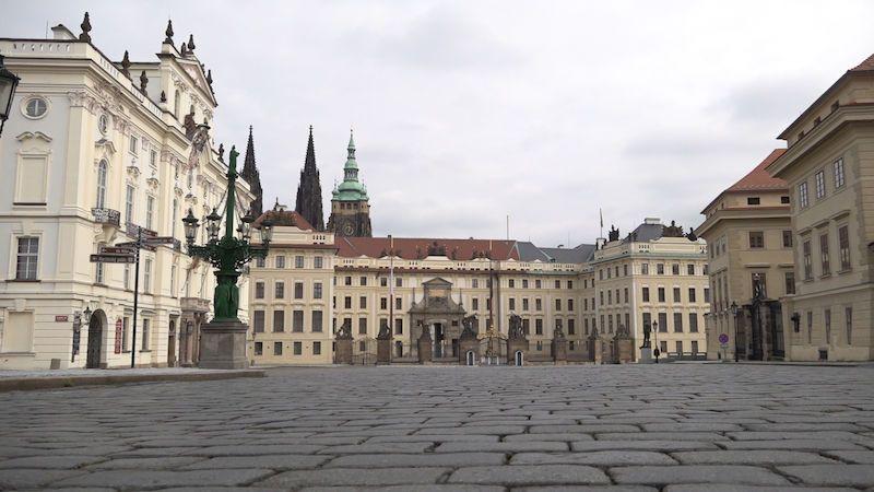 Smutný pohled. Centrum Prahy je opět bez lidí