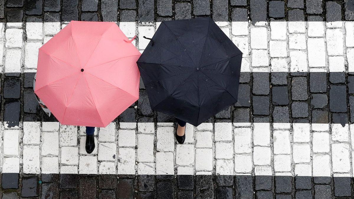 Na zmrzlíky s deštníky