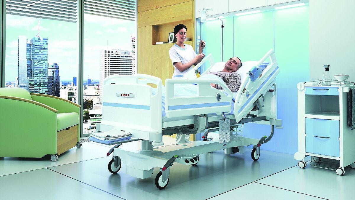 Linet: Lůžka pro české nemocnice mají přednost před ostatními zakázkami