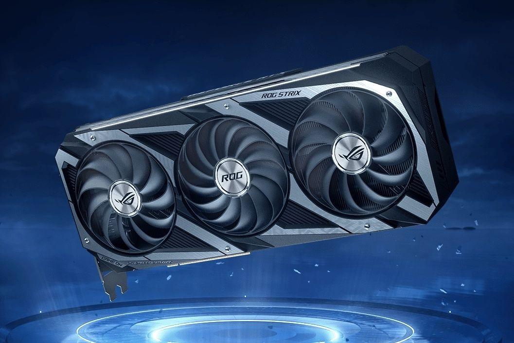 GeForce RTX 3080 v provedení od společnosti Asus.