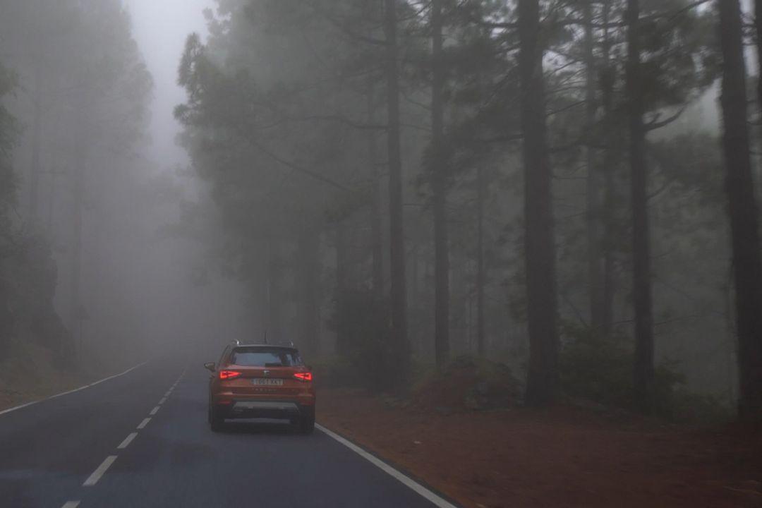 Ne vždy jsou za snížené viditelnosti nutné mlhovky. Důležité je, jak dobře vidíte auto před sebou.