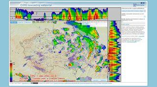 Nový radar ČHMÚ lépe ukáže, kde opravdu prší