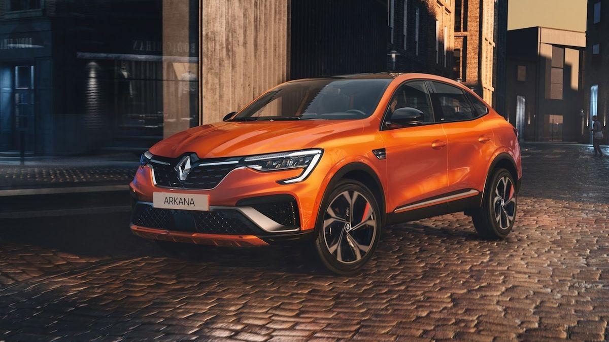 SUV kupé Renault Arkana má ceny pro český trh