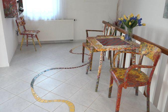 Na návštěvě u malířky Hany Krčmové