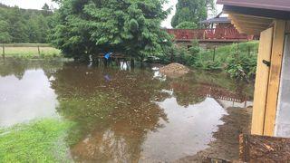 Velká voda dělala problémy. Na Havlíčkobrodsku evakuovali dětský tábor