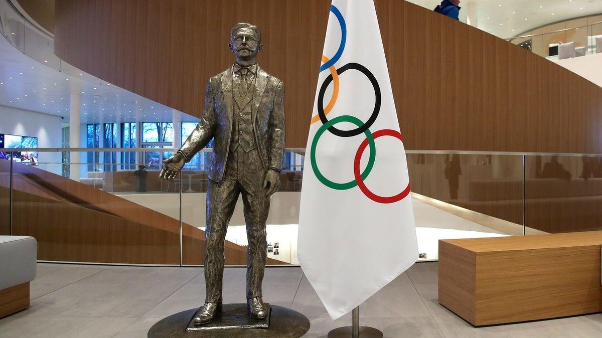 Kresba olympijských kruhů od zakladatele her má nového majitele. Zaplatil za ně balík