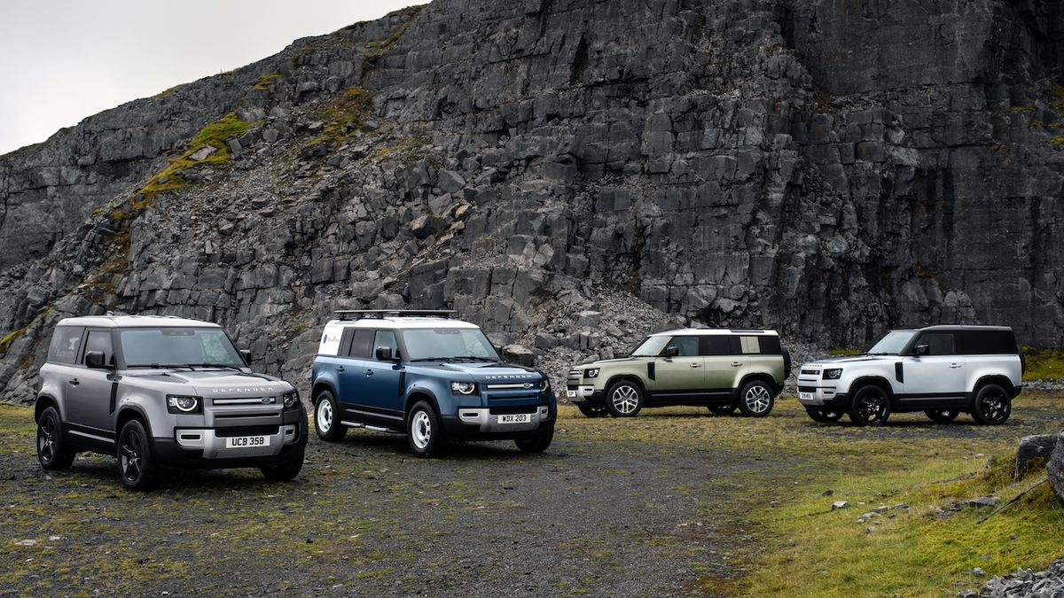Land Rover vyvíjí vodíkový defender