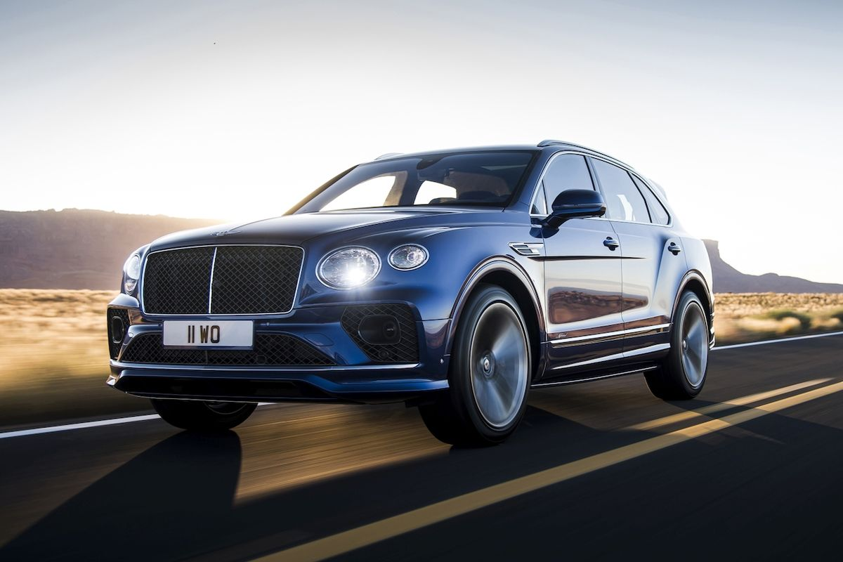 Modernizovaný Bentley Bentayga Speed