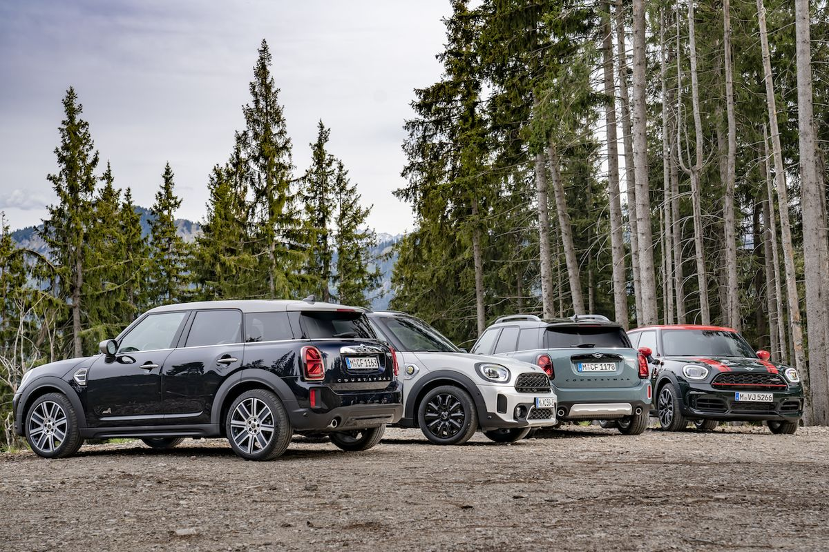 Mini Countryman po faceliftu