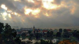 Typické středoevropské léto: během dne se ochladilo o 20 stupňů