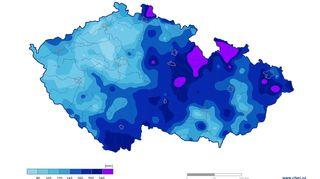 Červen byl nejdeštivější od roku 1961