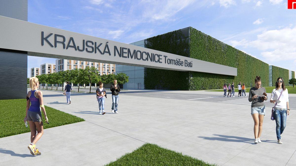 Zastupitelé ve Zlíně znovu odsouhlasili výstavbu nové nemocnice