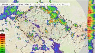 Páteční bouřky budou velmi silné, meteorologové zvýšili stupeň výstrahy
