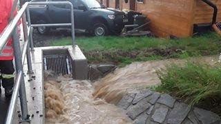 Na Pardubicku hrozí extrémní nebezpečí záplav, varovali meteorologové