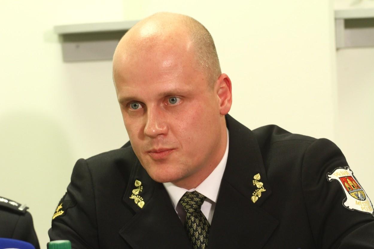 Šéf strážníků Eduard Šuster
