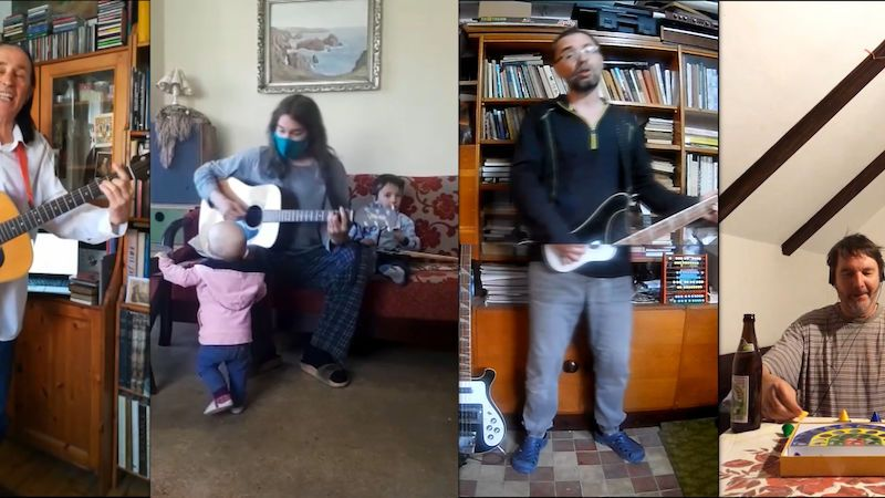 Kapela Schodiště nahrála na mobily v karanténě klip k písni Blbá náhoda