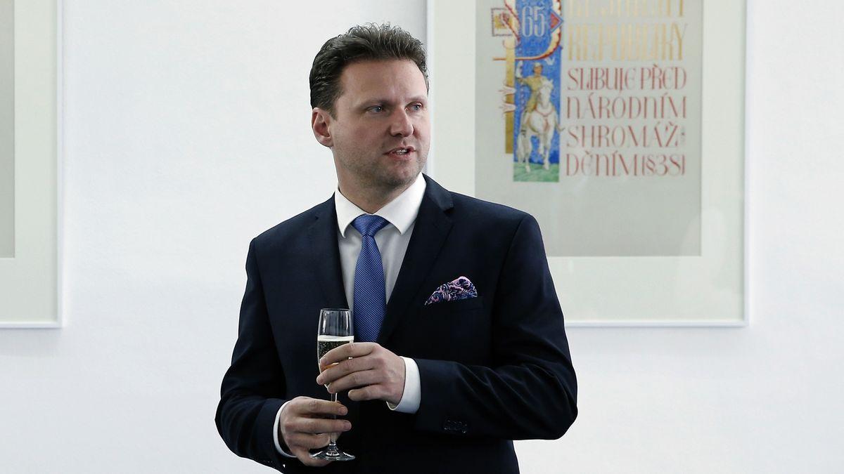 Předseda Poslanecké sněmovny Radek Vondráček