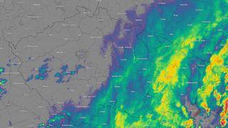 Na východě vytrvale prší, hladiny začínají stoupat