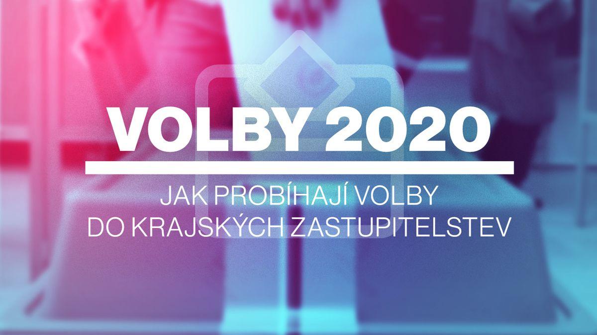 Volby 2020: Jak probíhají volby do krajských zastupitelstev