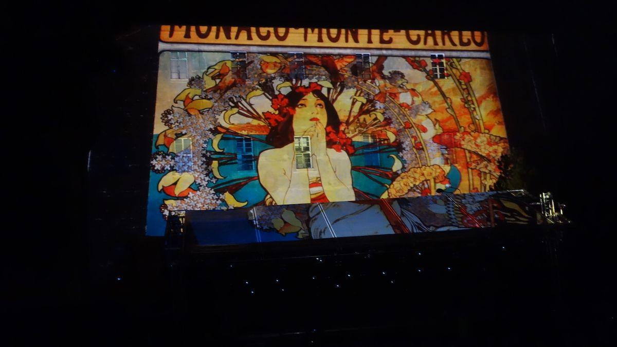 Na Soundtracku Poděbrady představili ukázky z show iMucha. Premiéru bude mít v květnu