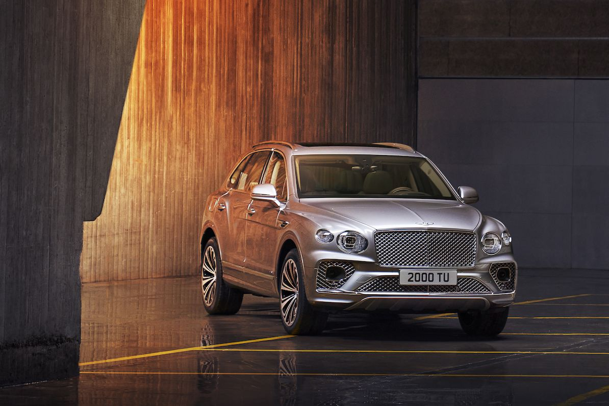 Bentley Bentayga po faceliftu