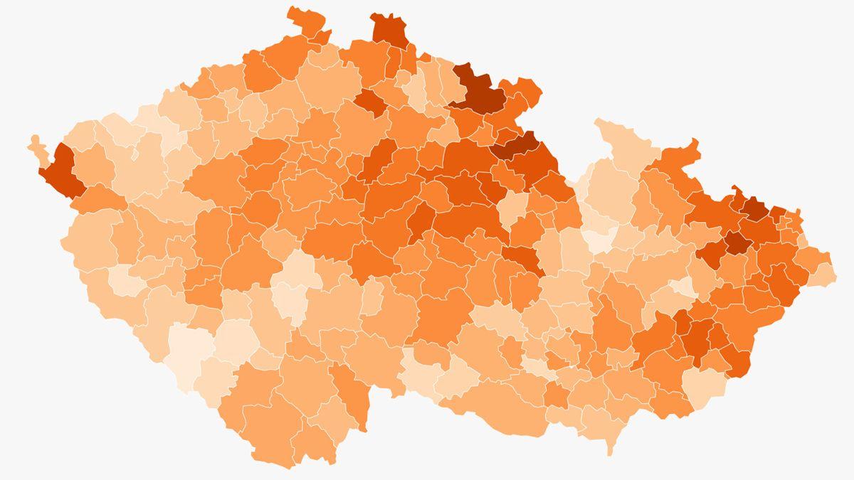 Rekordní přírůstky nakažených v Praze, středních Čechách a Zlínském kraji