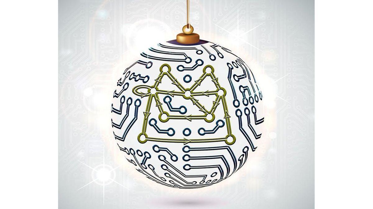 Britská tajná služba zveřejnila zašifrované přání k Vánocům