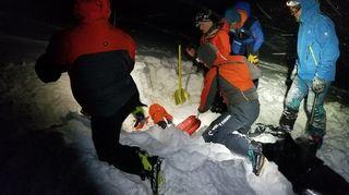 Lavina v Tatrách zabila dva polské skialpinisty, třetí se zvládl vyhrabat