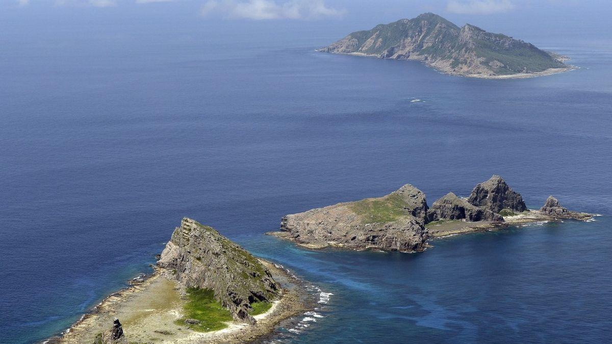 Čína dál provokuje Japonsko u ostrůvků Senkaku