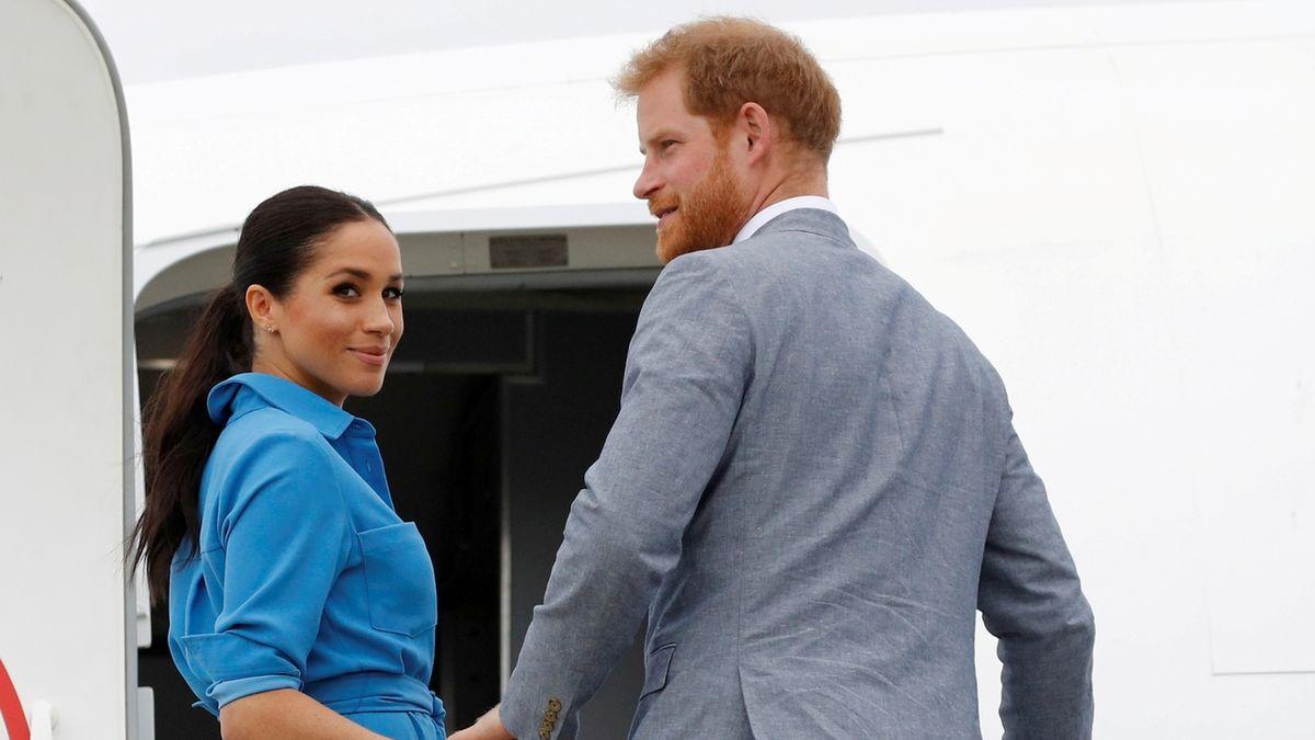 Harry a Meghan řekli královně definitivní sbohem