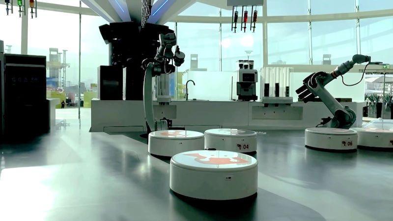 V kavárně budoucnosti pracují pouze roboti