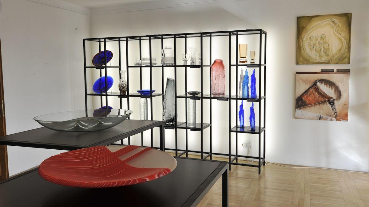 Ze zavřených galerií: Současná sklářská tvorba v jihlavské galerii