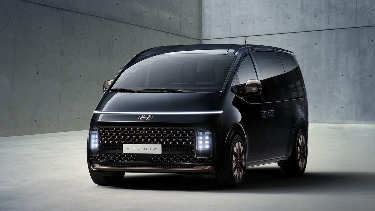 Hyundai Staria je futuristické MPV, které se chystá i do Evropy