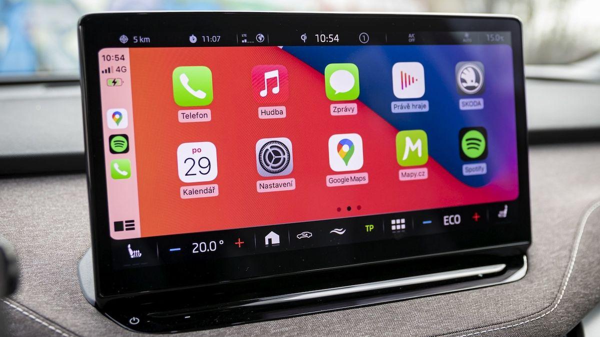 Přes Apple Carplay možná půjde ovládat i klimatizaci a další funkce vozu
